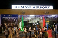 Front view of the Kumasi Airport