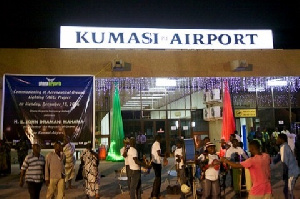 A new terminal will be built at the Kumasi Airport as part of its upgrade