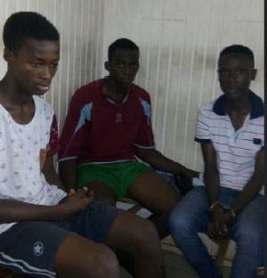 Gang Rape Suspects Arrested