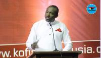 John Boadu is the General Secretary of the NPP