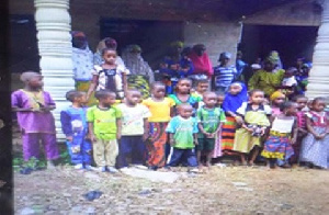 Fulani Children Stranded At Basari Line