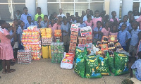 Cape Coast School for Deaf & Blind receive donation