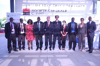 Management of SG Ghana in a group photo