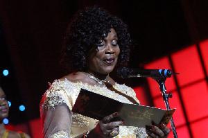 Veteran actress Grace Omaboe (Maame Dokono)