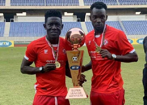 Ghanaian duo clinch Zambia Super League title with Nkana FC