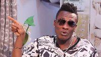 Asamoah Gyan in an interview on The Delay Show