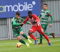 Otoo limped off in the 30th minute of Balikerispor's 1-0 defeat to Altidornu on Sunday