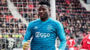 Ajax Amsterdam goalkeeper Andre Onana