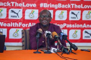 Black Stars coach, CK Akonnor