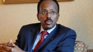 Somali President, Mohamed Abdullahi Farmajo