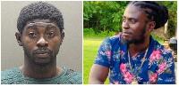Suspect Dennis Mensah and deceased Prince Asare