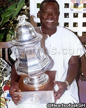 Atta Mills was board chair for Hearts