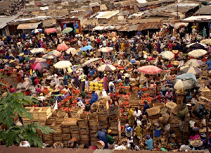Many Ghanaian enjoy good food according to the author