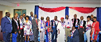 New executive members of NPP Minnesota chapter were sworn in