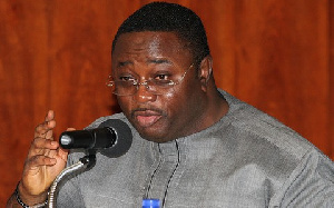 Director of Elections for the NDC, Mr Elvis Afriyie Ankrah
