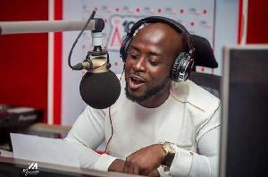 Nana Romeo, host of Accra100.5FM's mid-morning show Ayeeko Ayeeko