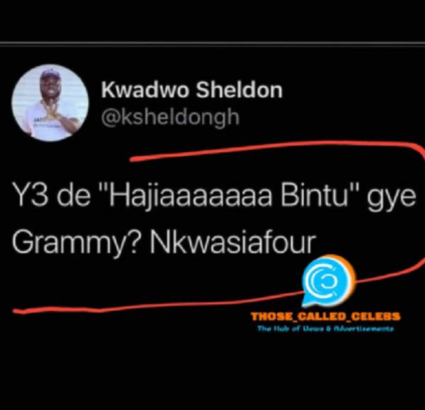 Don't expect to win a Grammy with 'useless' songs like 'Hajia Bintu' – Sheldon blasts Shatta Wale (watch video). 49