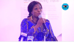 Minister for Tourism, Arts and Culture, Catherine Afeku