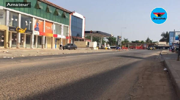 Coronavirus: Teshie goes quiet as movement is restricted