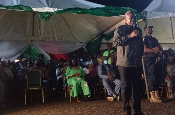 SALL situation one of the greatest travesties of democracy - Mahama