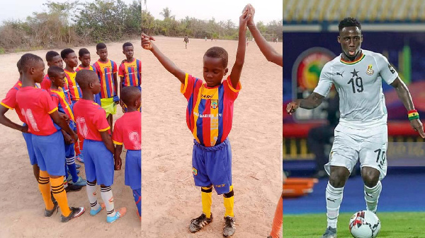 PRA BABIES: Black Stars winger Samuel Owusu promises support; adopts one player