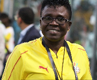 Black Queens Coach Mercy Tagoe-Quarcoo