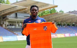 Ghanaian defender, Annan Mensah