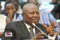 Special Prosecutor, Martin A.B.K. Amidu