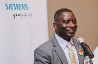 Edmund Acheampong, CEO, Siemens Ghana