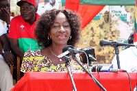 National vice chairperson aspirant for NDC, Madam Sherry Ayittey