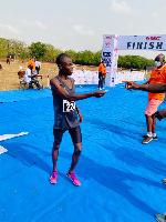 Ghana's long-distance runner, William Amponsah