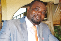 Richard Kwadwo Adu, Wenchi Constituency Organiser of the New Patriotic Party
