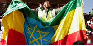 File photo: The protest was aimed at demanding an end to the ongoing conflict in Ethiopia