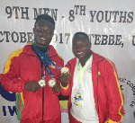 Christian Amoah has once again made a mark in weightlifting  after winning three medals