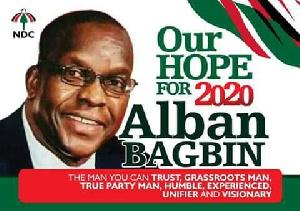 Alban Bagbin Poster