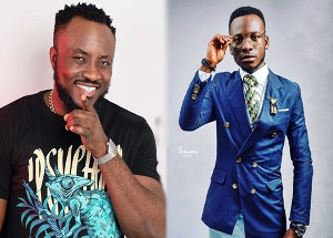 Comedians DKB (left) and Lekzy (right)
