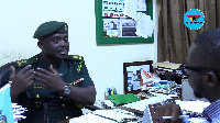Head of Public Relations, Ghana Immigration Service - Michael Amoako-Atta