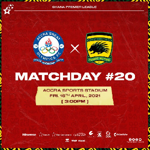 Great Olympics vs Asante Kotoko