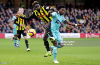 Atsu could not help Newcastle beat Watford in the FA Cup