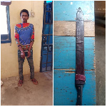 Idriss Bukari is a suspect in the murder of a woman at Mafi Agoe
