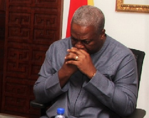 Former President Mahama has described the late Paramount Chief of Gbi Traditional Area as a brother