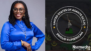 Ursula Owusu-Ekuful has been issued with a 'Kumerican' passport