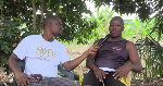 Francis Abgovito  in an interview with DJ Nyami of SVTV