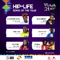 Hiplife Song of the Year nominees