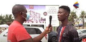 Abubakar Sadiq in an interview with SVTV Africa