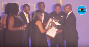The award ceremony was held at the State Banquet Hall on Friday October 13, 2017
