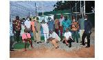 Members of the Ghana Tennis Club