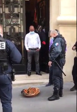 Nigerian Embassy in France calls Police after ritual sacrifice was left at its entrance