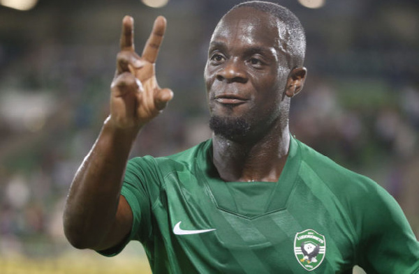 Watch Elvis Manu's goal for Ludogorets in win against Montana