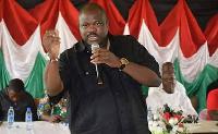 Joshua Hamidu Akamba, Aspiring National Organizer of the opposition NDC